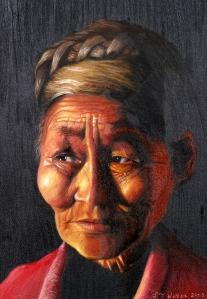 #1LouiseWebber_ Canadian native lady